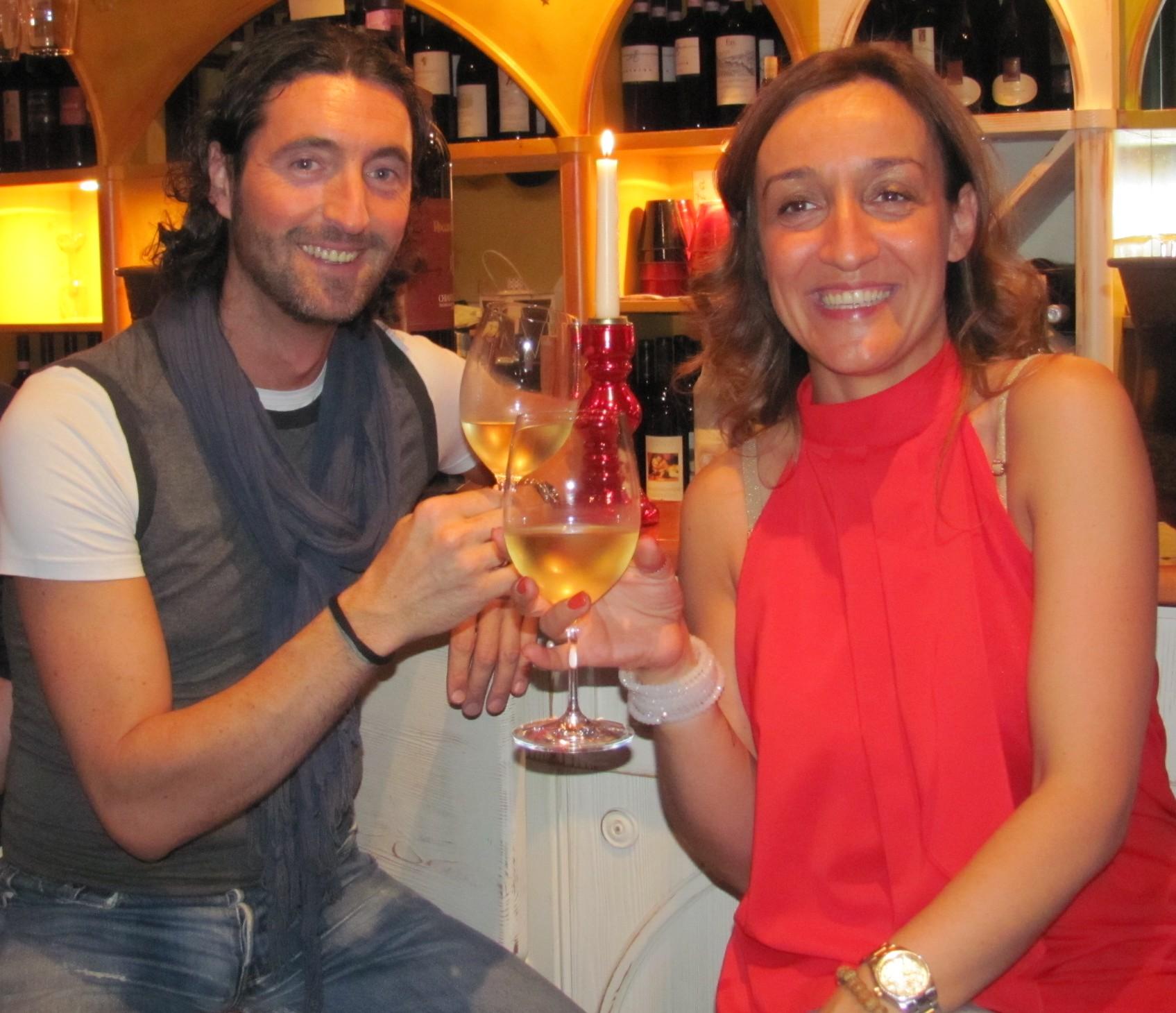 Luca Locatelli e Eleonora Spallino.