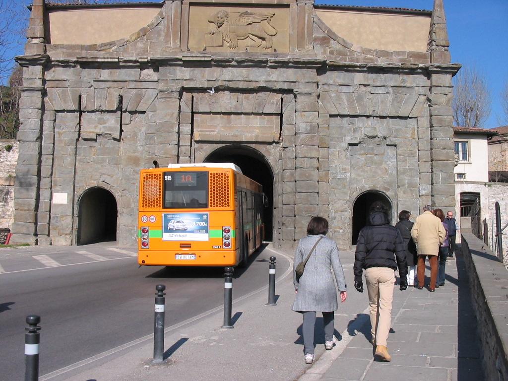 A Bergamo non controllano