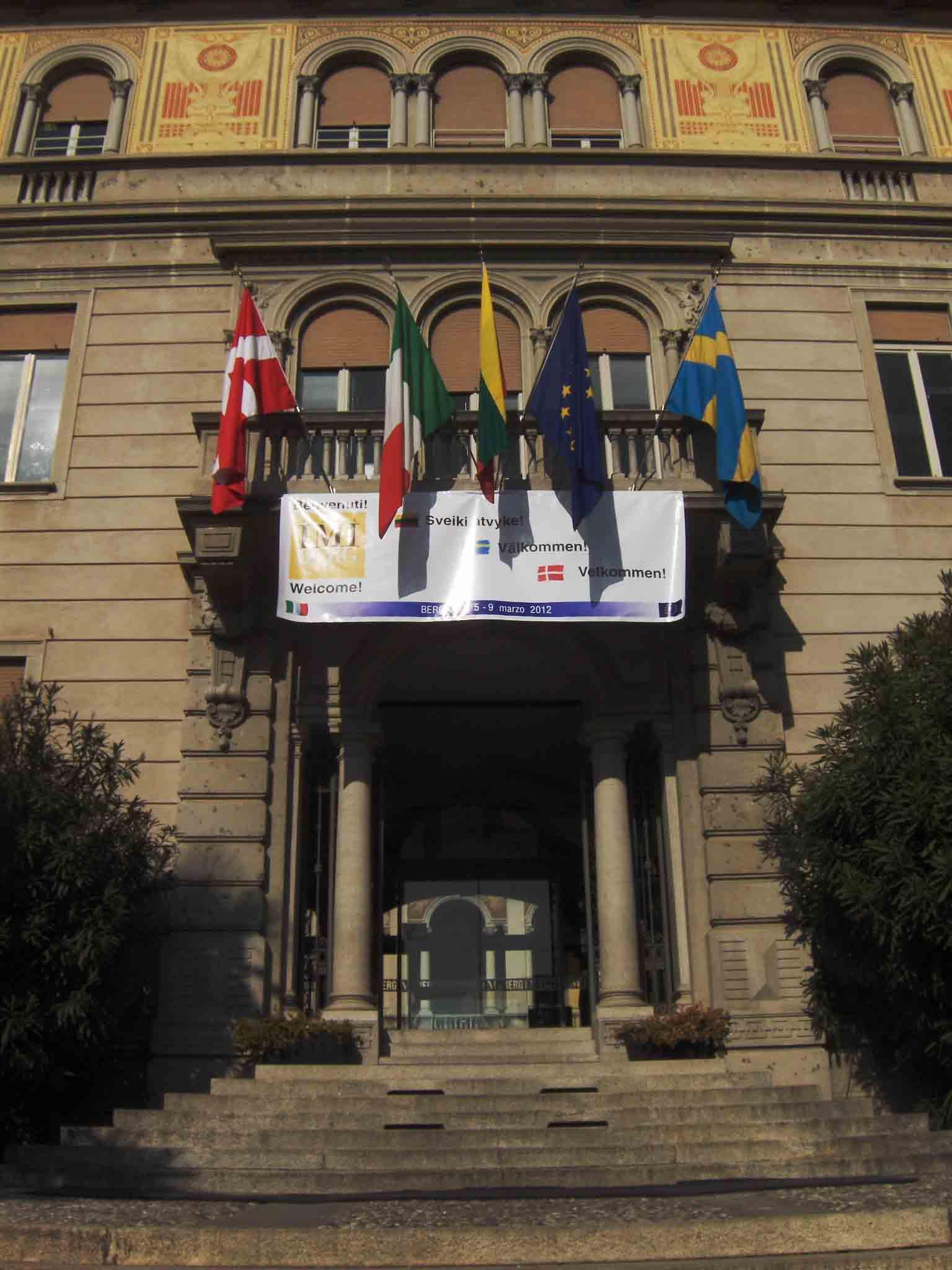 Scuola, imprenditorialità, Europa all'Imiberg