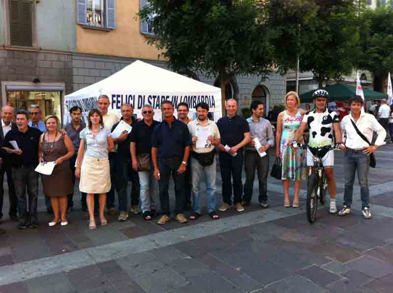 """PDL Bergamo: """"Felici di vivere in Lombardia"""""""