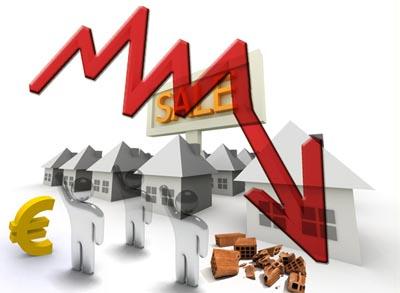Mercato immobiliare ancora in crisi a Bergamo