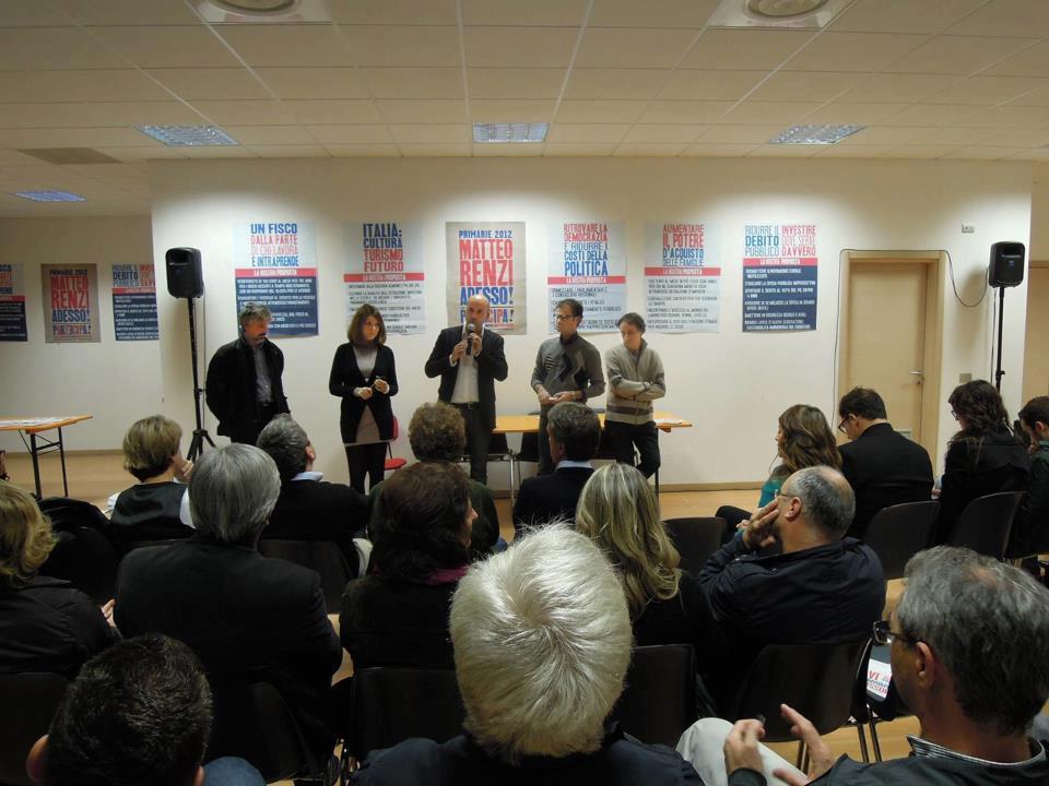 Comitato Renzi per Bergamo: inaugurazione sede