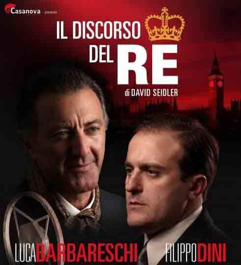 Il discorso del re di Luca Barbareschi e Filippo Dini