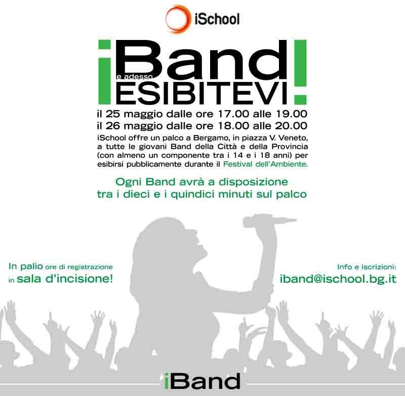 iBand: prove libere nel cuore di Bergamo