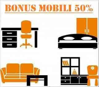 Detrazione 50% anche per l'acquisto di mobili