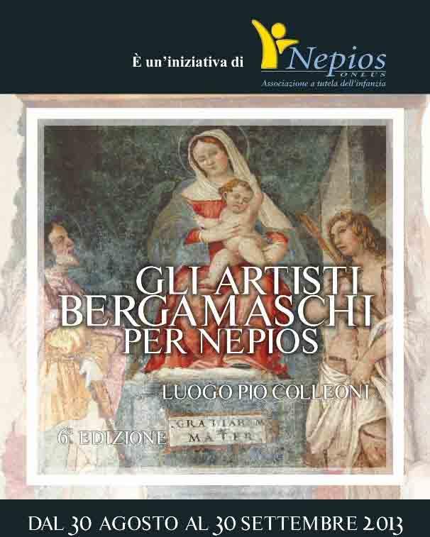 Gli artisti bergamaschi per Nepios alla 6^edizione
