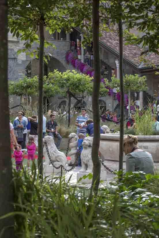 Un'orchestra nel bosco di Piazza Vecchia