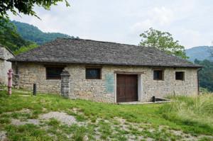 Edificio medioevale Ca Berizzi in Val Imagna