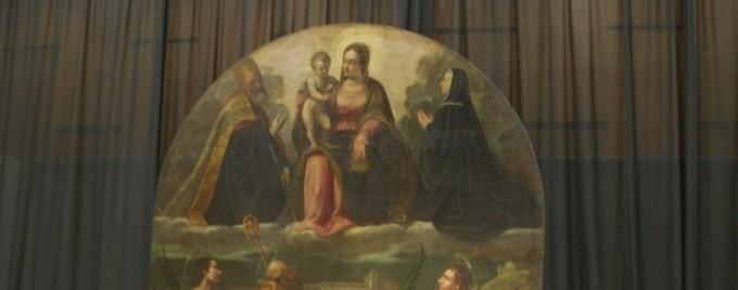 Enea Salmeggia a Palazzo CreBerg