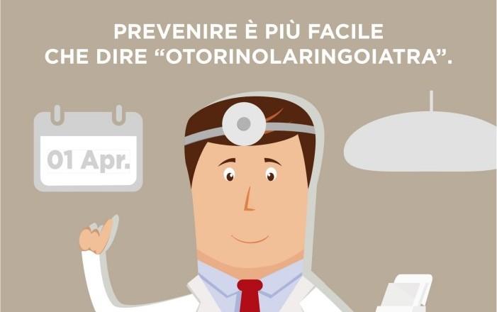 1 Aprile visite gratuite per la Giornata Nazionale della prevenzione Otorinolaringoiatrica