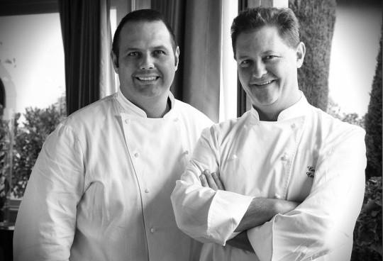 Bobo e Chicco Cerea, chef del ristorante Da Vittorio