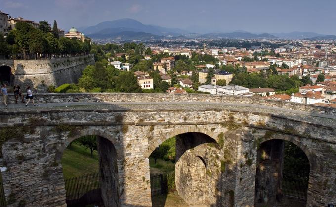 Bergamo entra tra i video della Rai dedicati ai siti Unesco