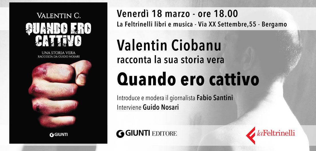 """Guido Nosari presenta """"Quando ero Cattivo"""""""