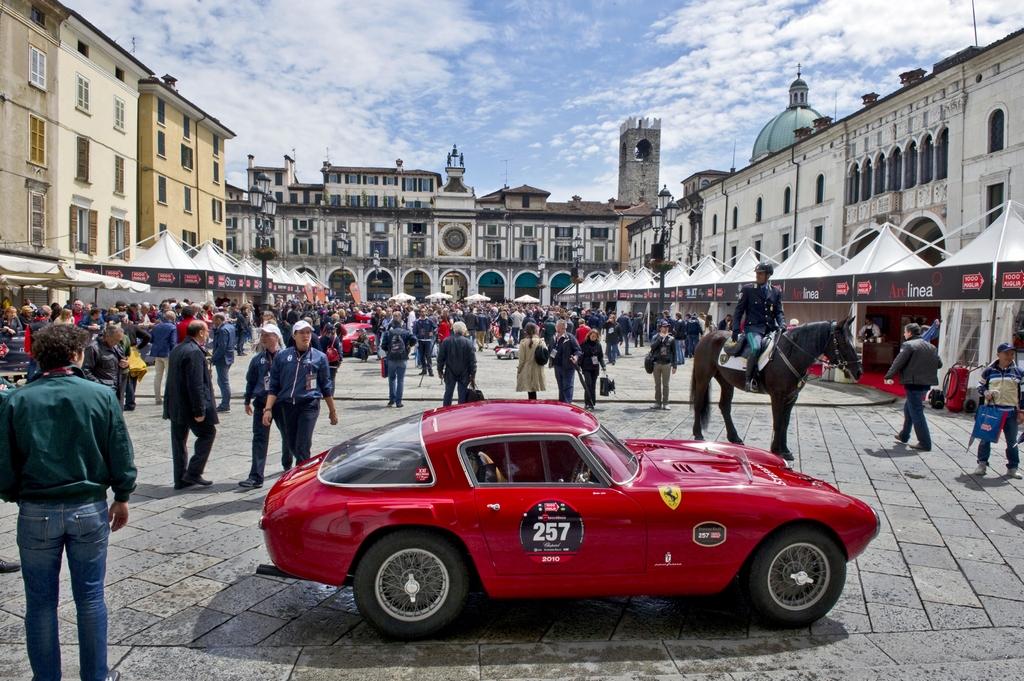 Il 22 maggio torna la Mille Miglia a Bergamo