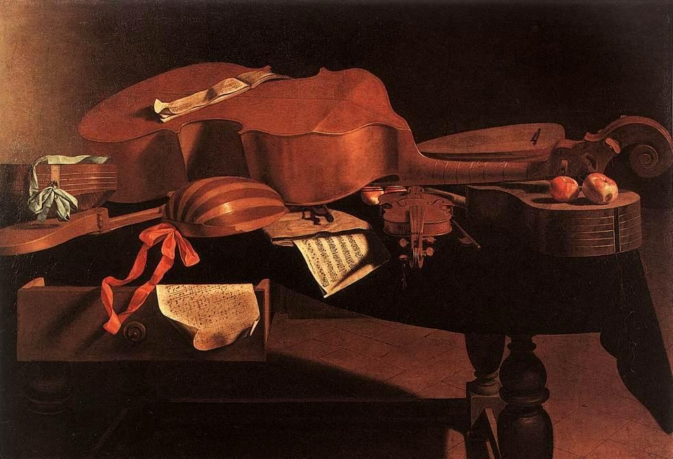 Baschenis_-_Musical_Instruments
