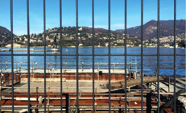 Il piccolo Mose del Lago di Como