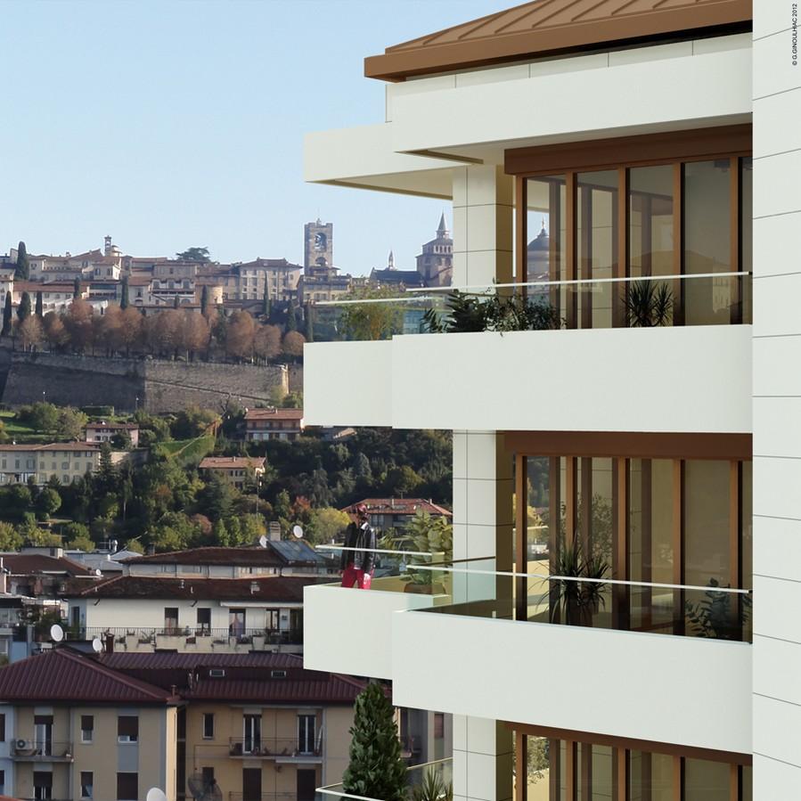 02 Vista balconi con sfondo Citta Alta