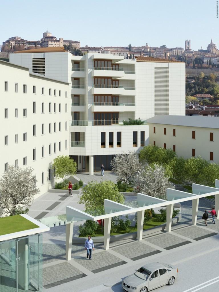 03 Vista piazza da Via Broseta rialzata