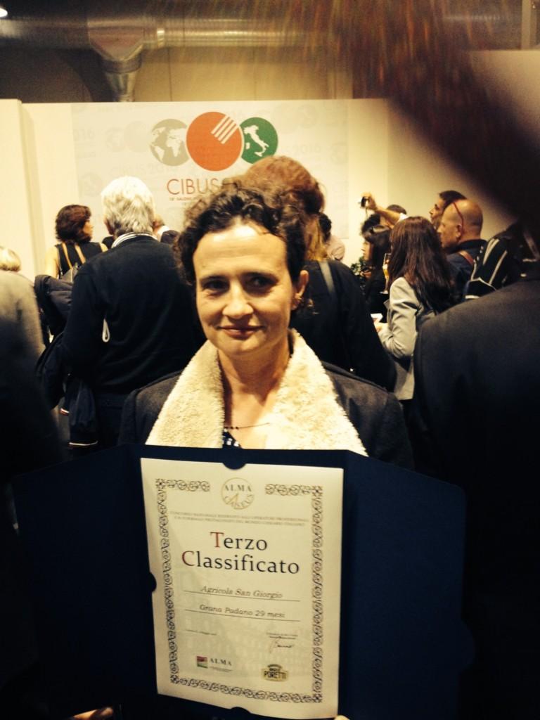Nuovo premio al Grana Padano di San Giorgio
