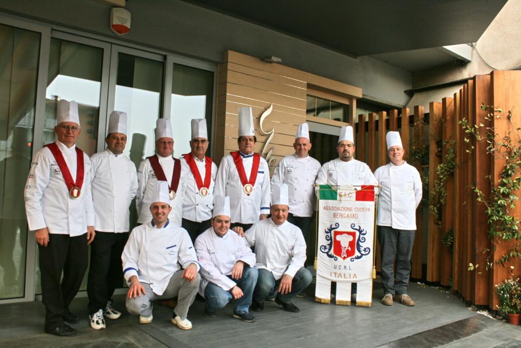 Associazione Cuochi Bergamaschi, crescono iscritti e attività