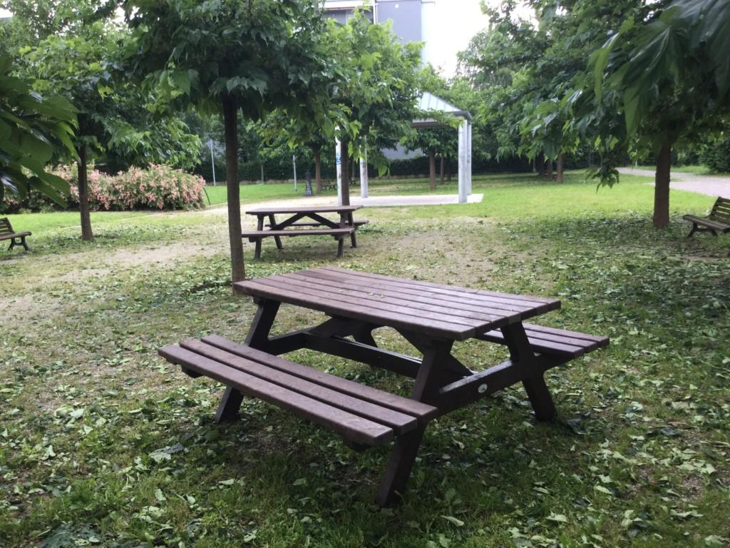 Lavori in corso nei giardini scolastici e nei parchi cittadini