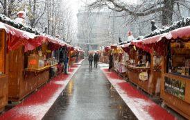 Piazzale Alpini, si accende il Villaggio di Natale