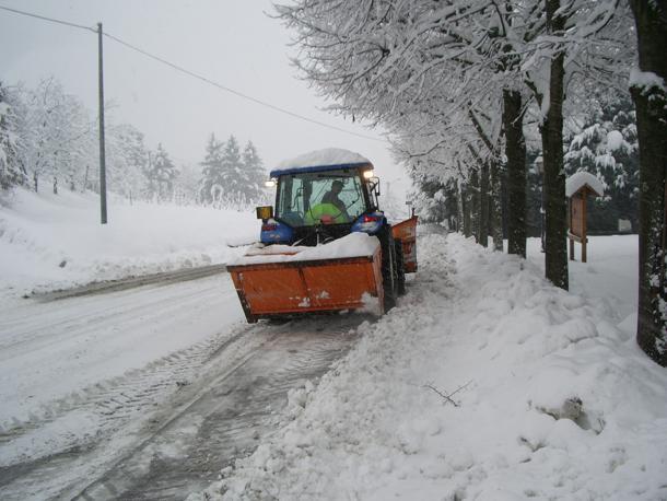 Piano neve 2016/17 pronto a scattare:120 mezzi in città