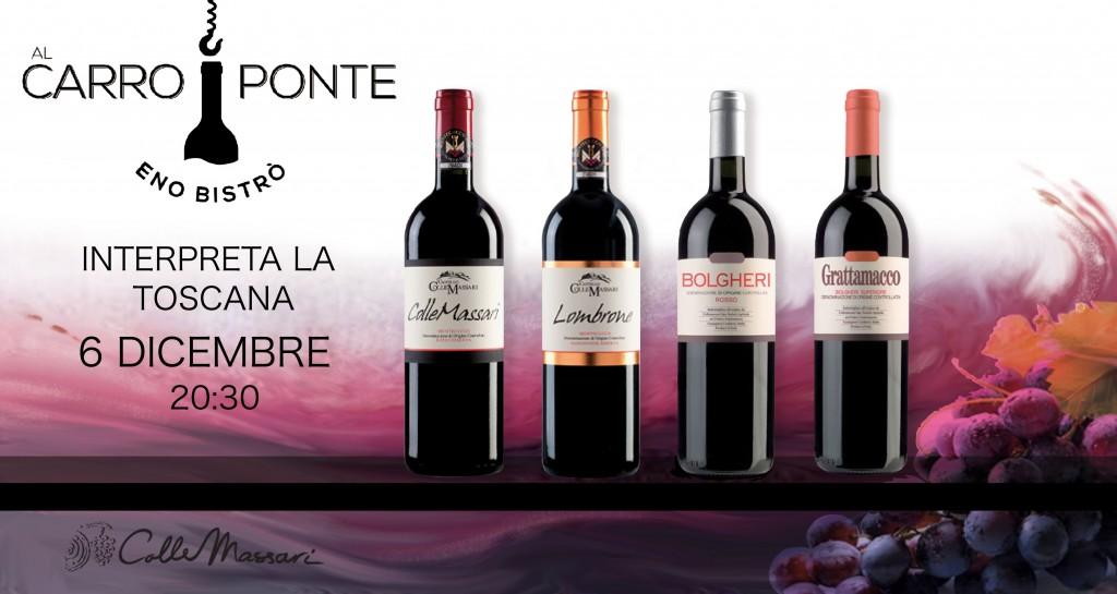 Al Carroponte di Bergamo ospita I vini toscani di Colle Massari