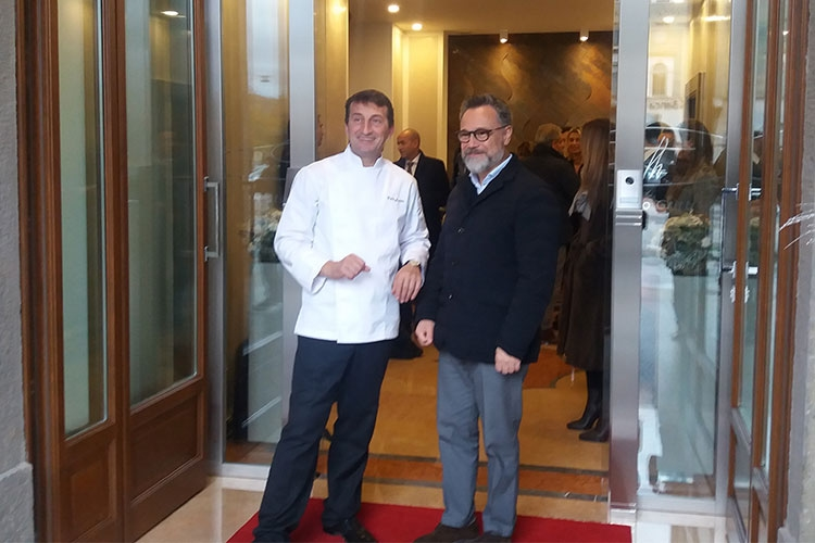 Ezio Gritti apre un nuovo ristorante nel centro di Bergamo Bassa