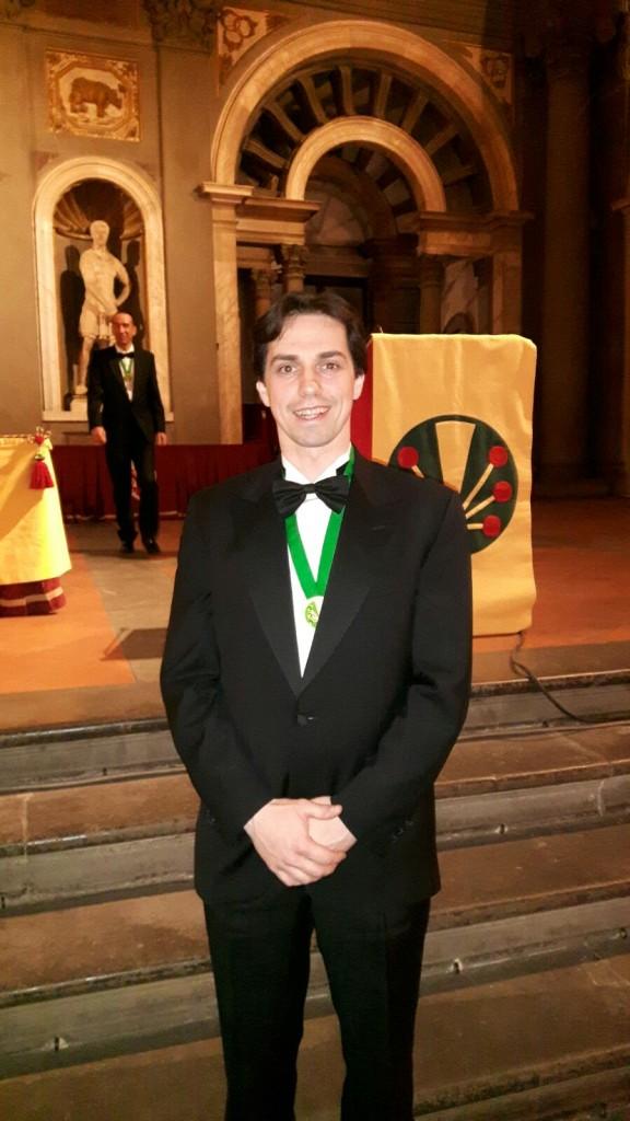 Oscar Mazzoleni, Cavaliere dello Champagne