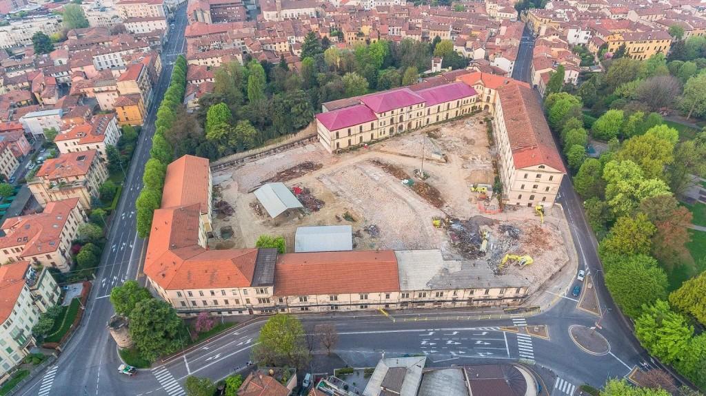 Montelungo, concluse le demolizioni. Bando per il progetto