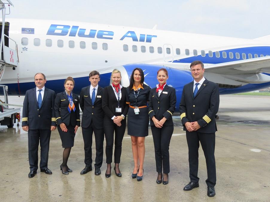 Blue Air inaugura il collegamento diretto tra Milano Bergamo e Iasi (Romania)