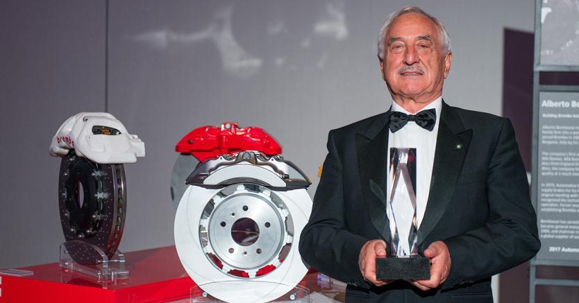 Alberto Bombassei entra nell'Automotive Hall of Fame