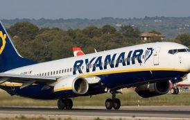 Per Ryanair stop al 99 per cento dei voli fino a luglio