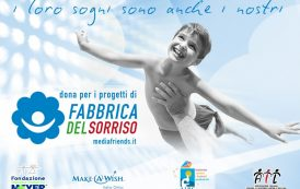 Make-a-Wish e Fabbrica del Sorriso per i bambini affetti da tumore