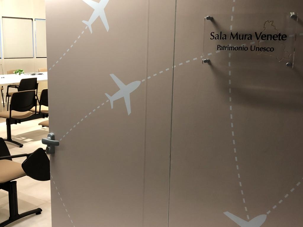 Aeroporto Milano Bergamo apre la Sala Mura Venete