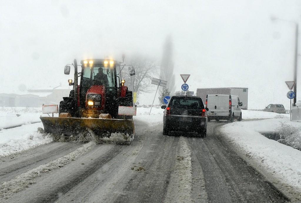 Piano neve al via. Pronte 1.800 tonnellate di sale