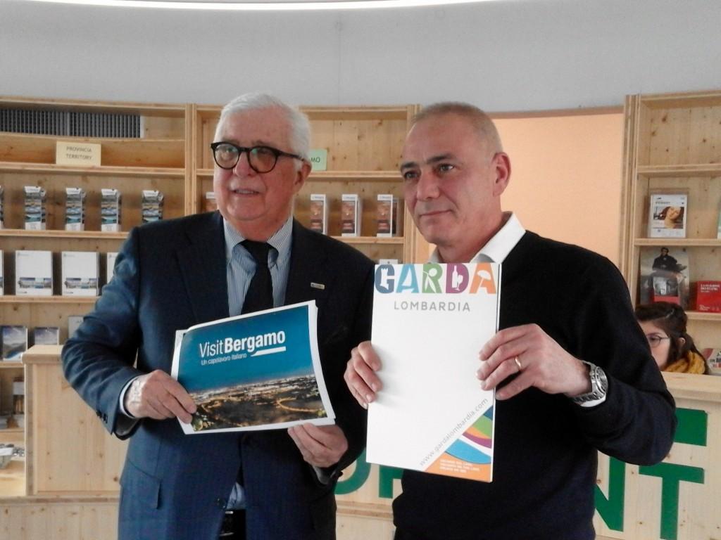Bergamo-Lago di Garda: accordo per intercettare i turisti