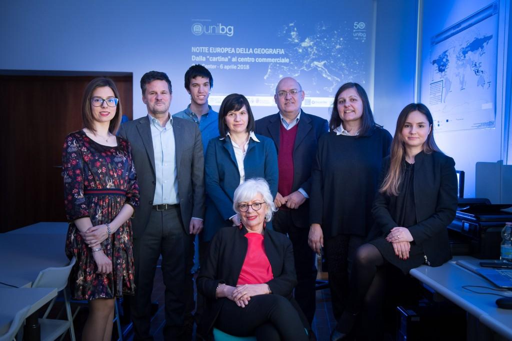 UniBG partecipa alla Notte Europea della Geografia