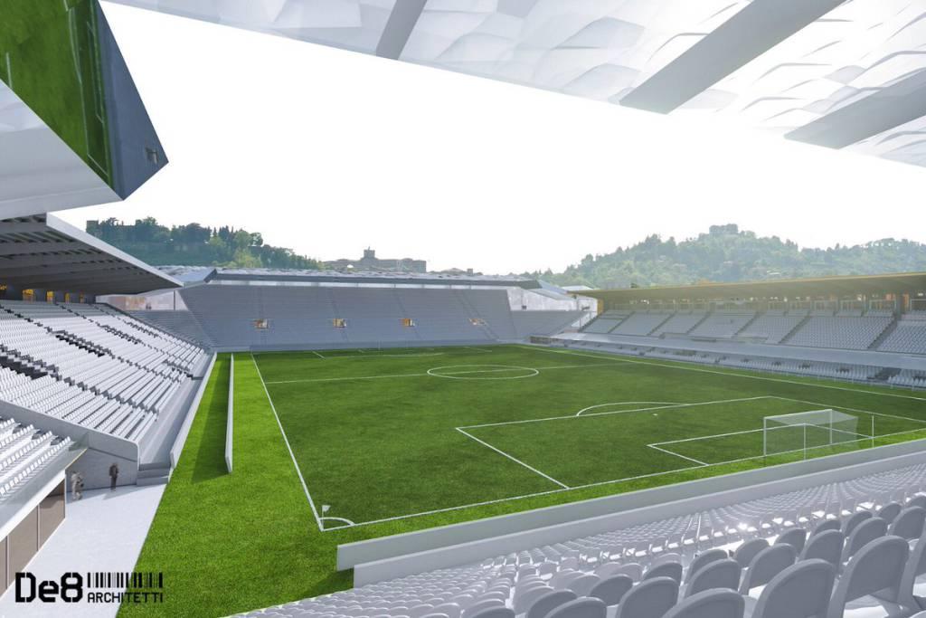 Stadio Atleti Azzurri d'Italia, dopo i lavori sarà Gewiss Arena