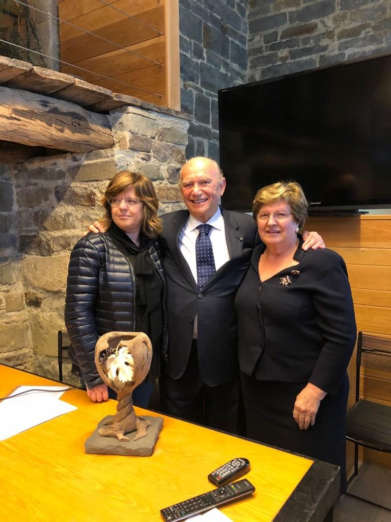 Premio Francesco Arrigoni alla Fondazione Pellegrini