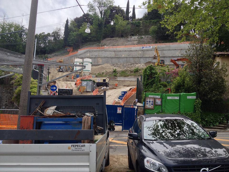 I lavori alla Fara procedono bene: tra un mese si scava