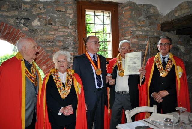 Bruno Moretti, esperto produttore di farine di mais, nominato Cavaliere della Polenta