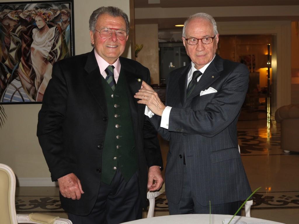 Lucio Piombi premiato dalla Accademia Italiana della Cucina