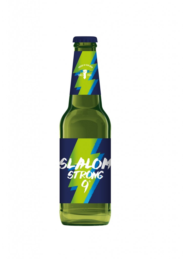 Nuovo look per la Slalom Strong Lager