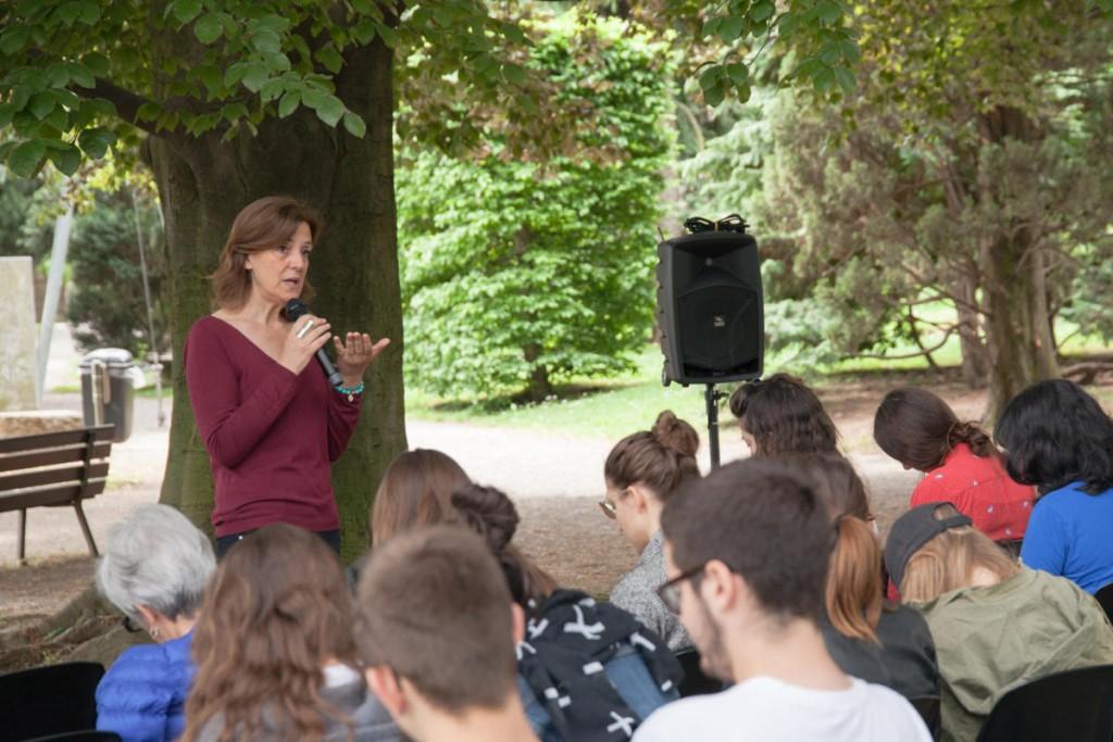 I docenti dell'Università degli studi di Bergamo scendono dalle cattedre