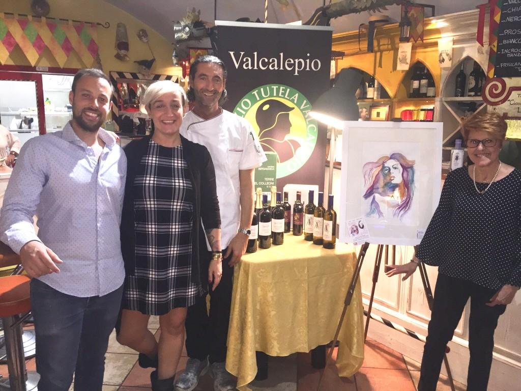 La cucina di Locatelli abbinata ai vini della Cantina bergamasca di San Paolo d'Argon