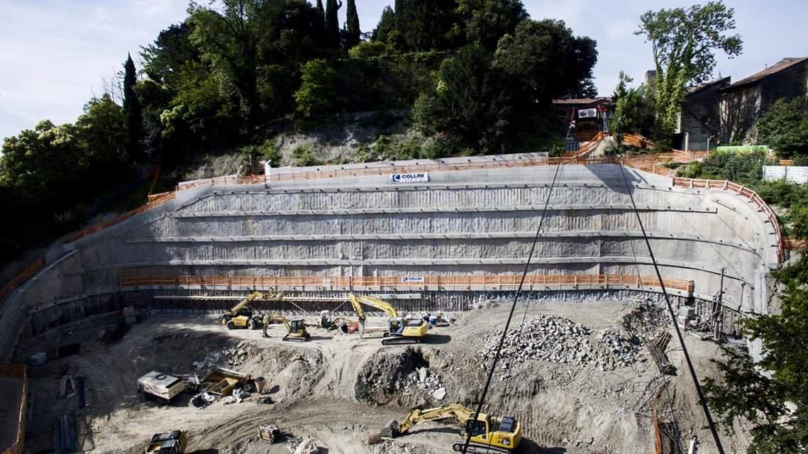 Rinforzo al parcheggio della Fara: imprevisto da 600mila euro