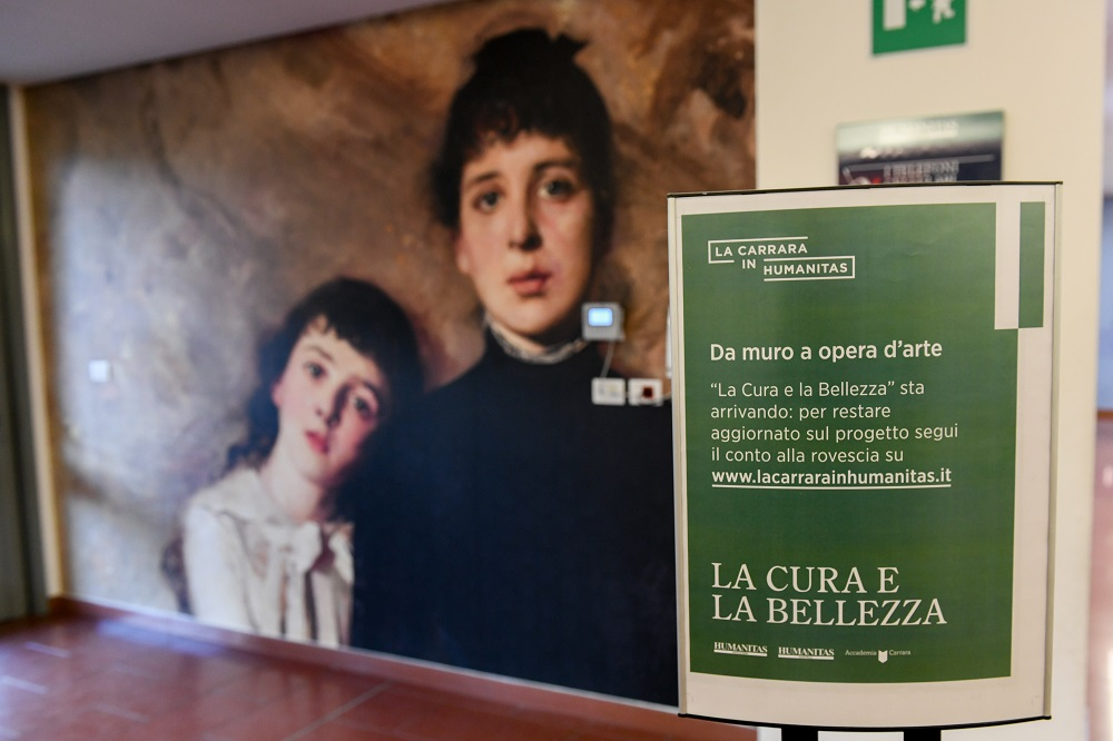 Arte in ospedale in Humanitas Gavazzeni e Castelli