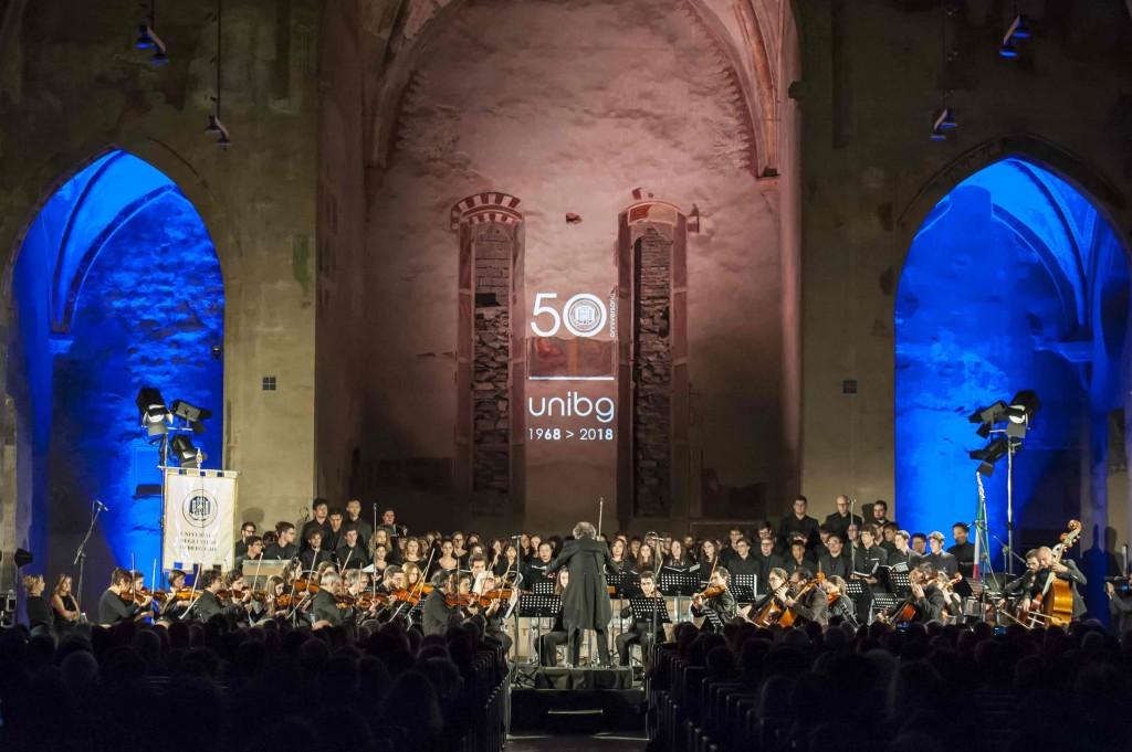 50 anni di università di Bergamo sulle note di Mozart e Beethoven